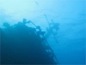 Советский сторожевой корабль, погибший в результате шторма
